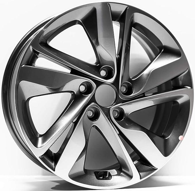 Amazon 17 Inch 2014 2015 Hyundai Elantra Oem Alloy Wheel Rim Decked Out: 2014 Hyundai Elantra Stereo Wiring Diagram At Downselot.com