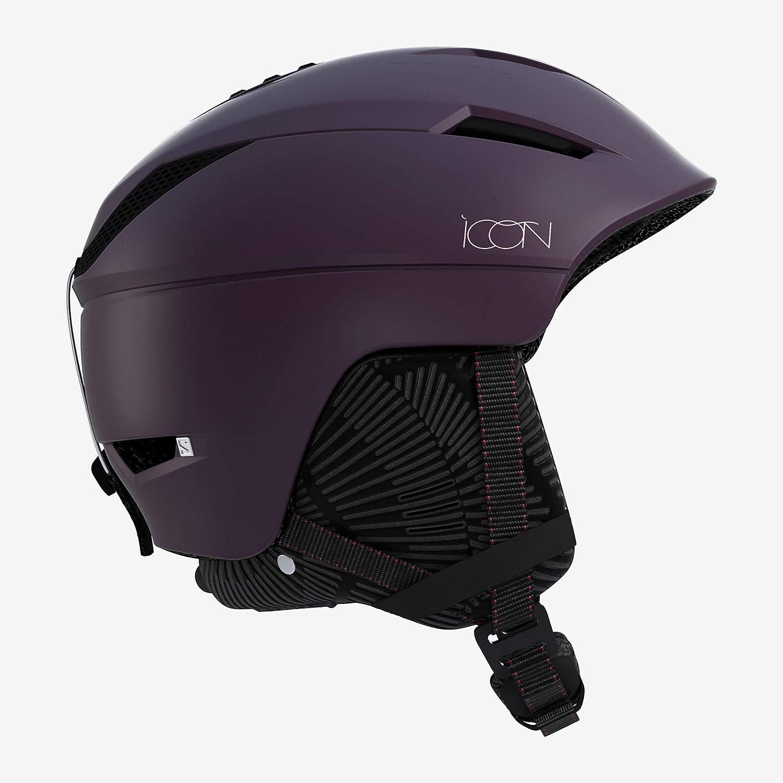 SALOMON(サロモン) スキーヘルメット スノーボードヘルメット ICON² C. AIR (アイコン C エアー) 2019-20年モデル サイズS~M Fig Medium