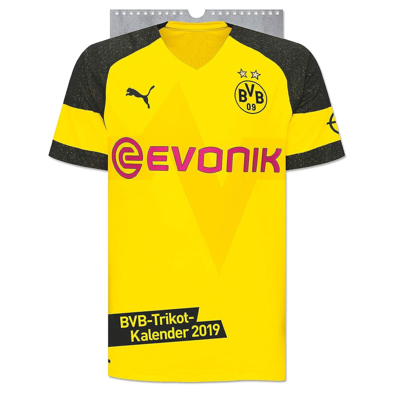 Borussia Dortmund Trikot Kalender 2019 Multi) BV Borussia Dortmund 09