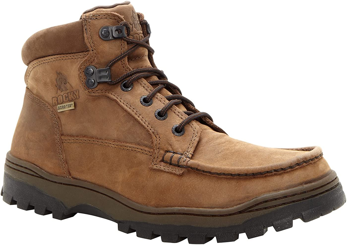 Rocky Men's Outback Gore-tex WP Moc-Toe Field Boots-8723