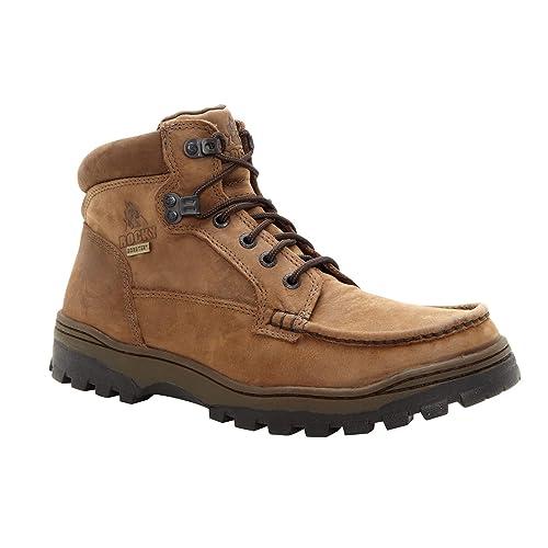 0eb59ec7c7d Rocky Men's Outback Gore-tex WP Moc-Toe Field Boots-8723
