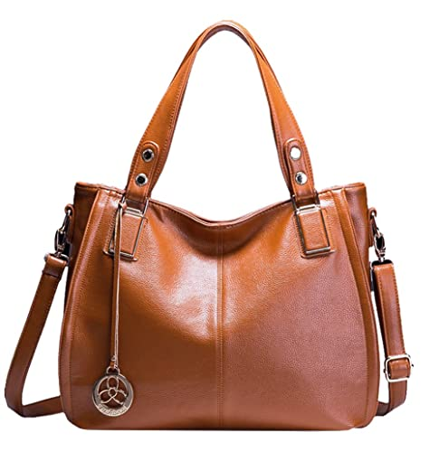 AB Earth - Bolso estilo cartera para mujer Marrón M929Brown: Amazon.es: Equipaje