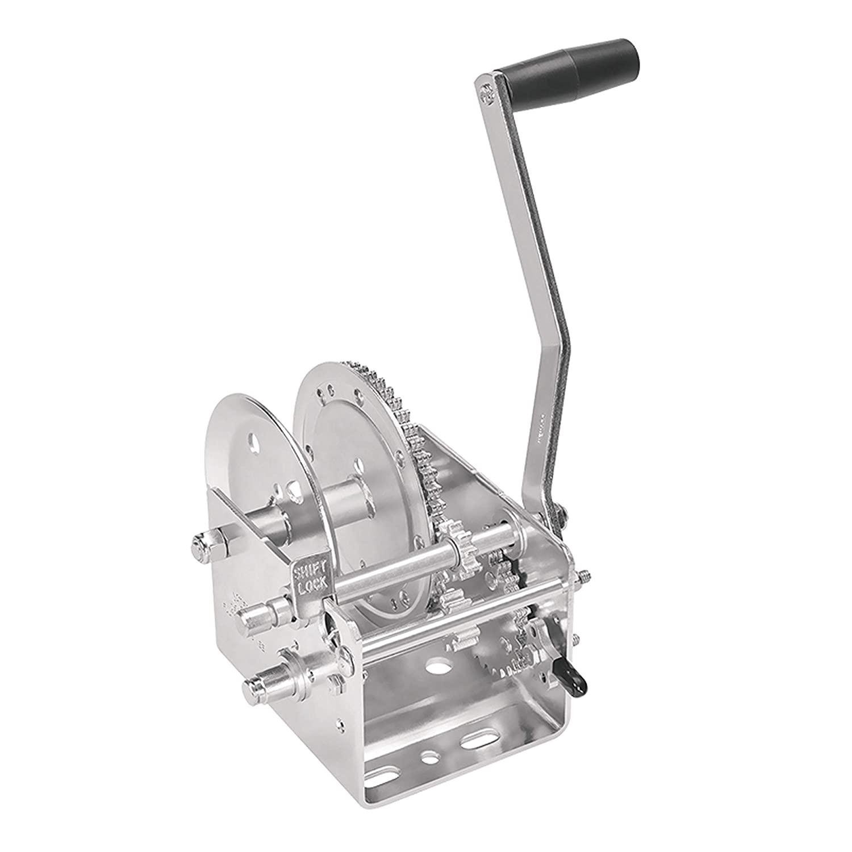 Capacity Fulton 142410 Dual Speed Winch-2600 lbs