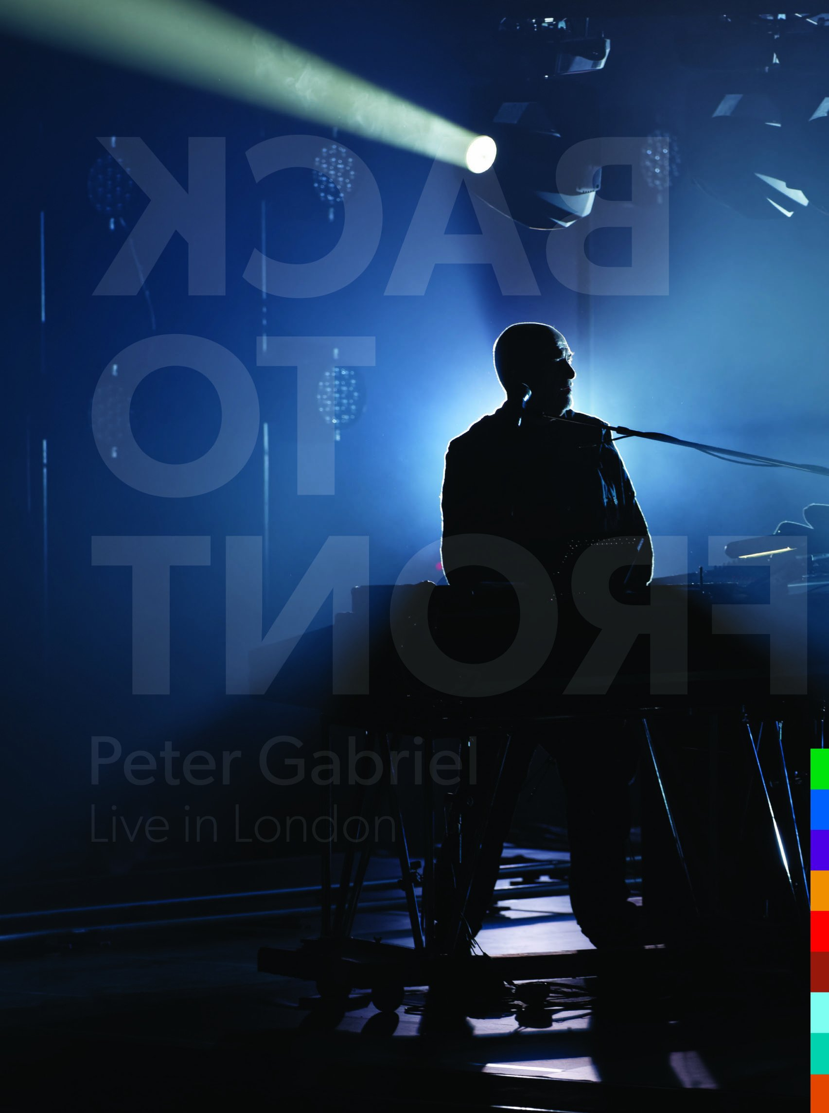 Peter Gabriel - Back to Front: Live in London (With CD, Limited Edition, 4PC)