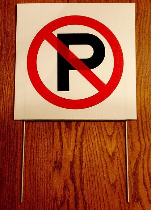 Amazon 1 Pc Cool Popular No Parking Symbol Sign Yard Message