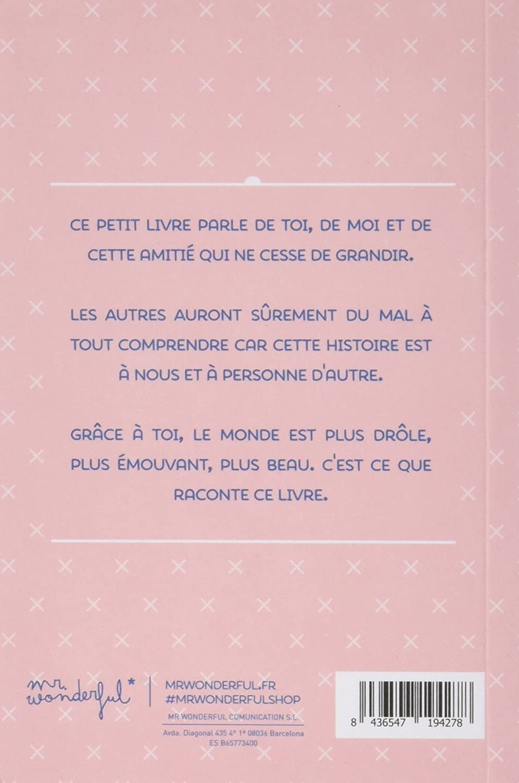 Assez Mr. Wonderful WOA03091 Livre d'histoires: Amazon.fr: Fournitures  AK89