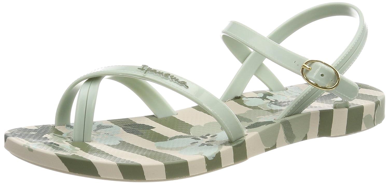 Ipanema Damen Fashion Sand V Fem Zehentrenner  40 EU Mehrfarbig (Beige/Green)