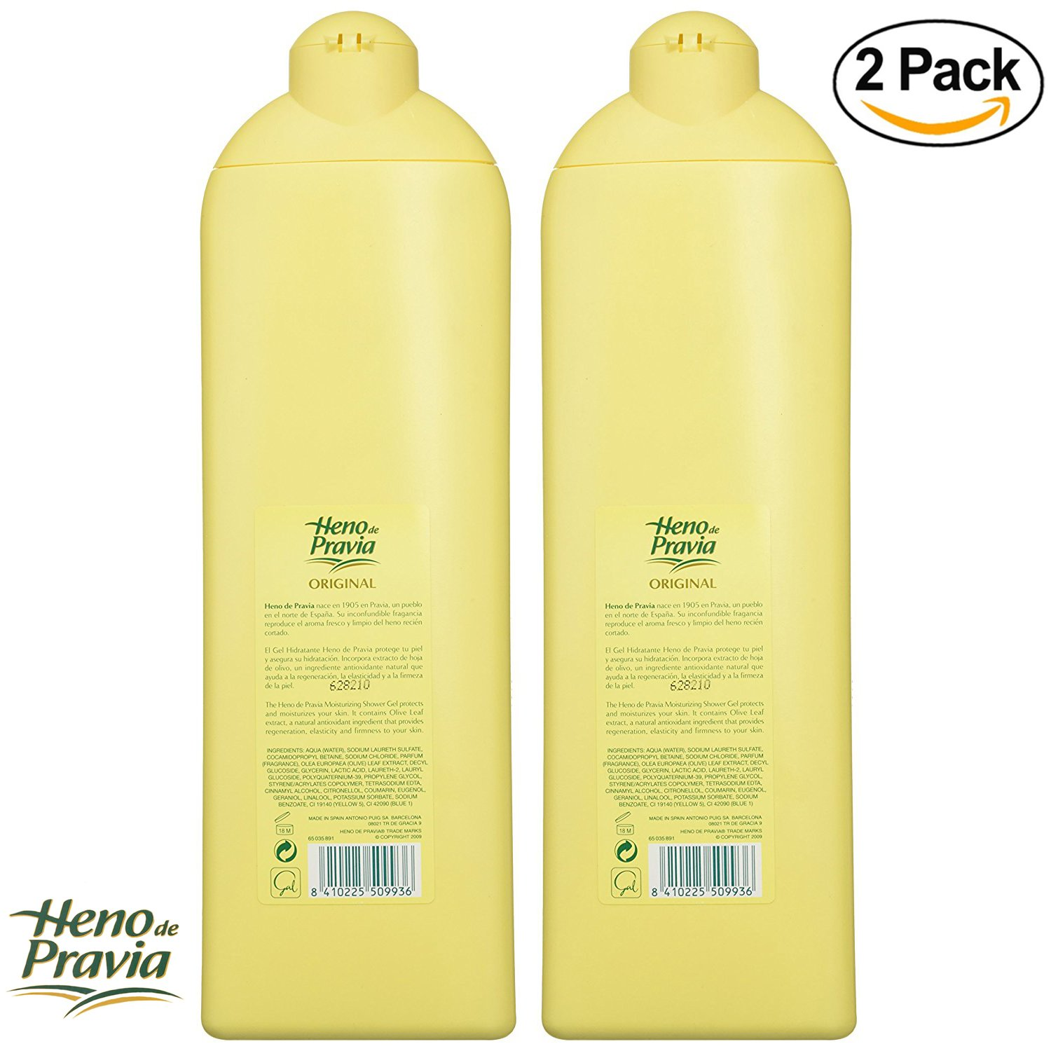 Amazon.com : Heno de Pravia Shower Gel 22.5 Oz. 2-PACK Original : Bath And Shower Gels : Beauty
