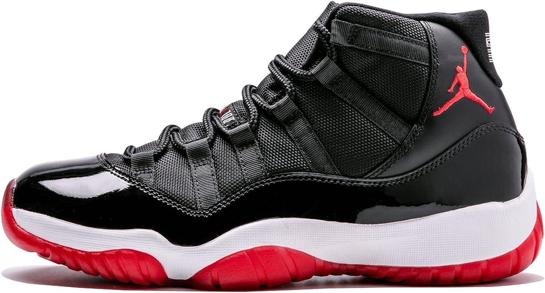 Nike Mens Air Jordan 11 Retro Bred