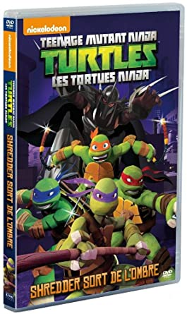 Amazon.com: Les Tortues Ninja - Vol. 2 : Shredder sort de l ...
