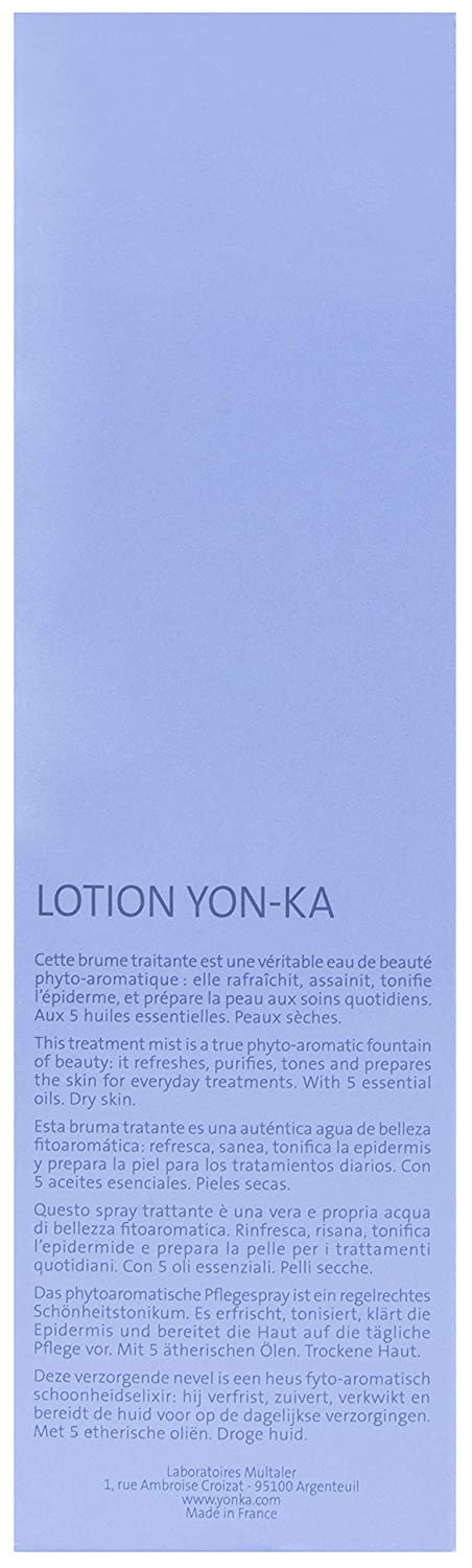 YONKA – Essential Lotion PS Invigorating Mist 6.7 Ounce 200 Milliliter