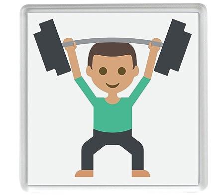 IamEngland Peso del imán Nevera Elevador 3 Tono Emoji 58mm x 58mm ...