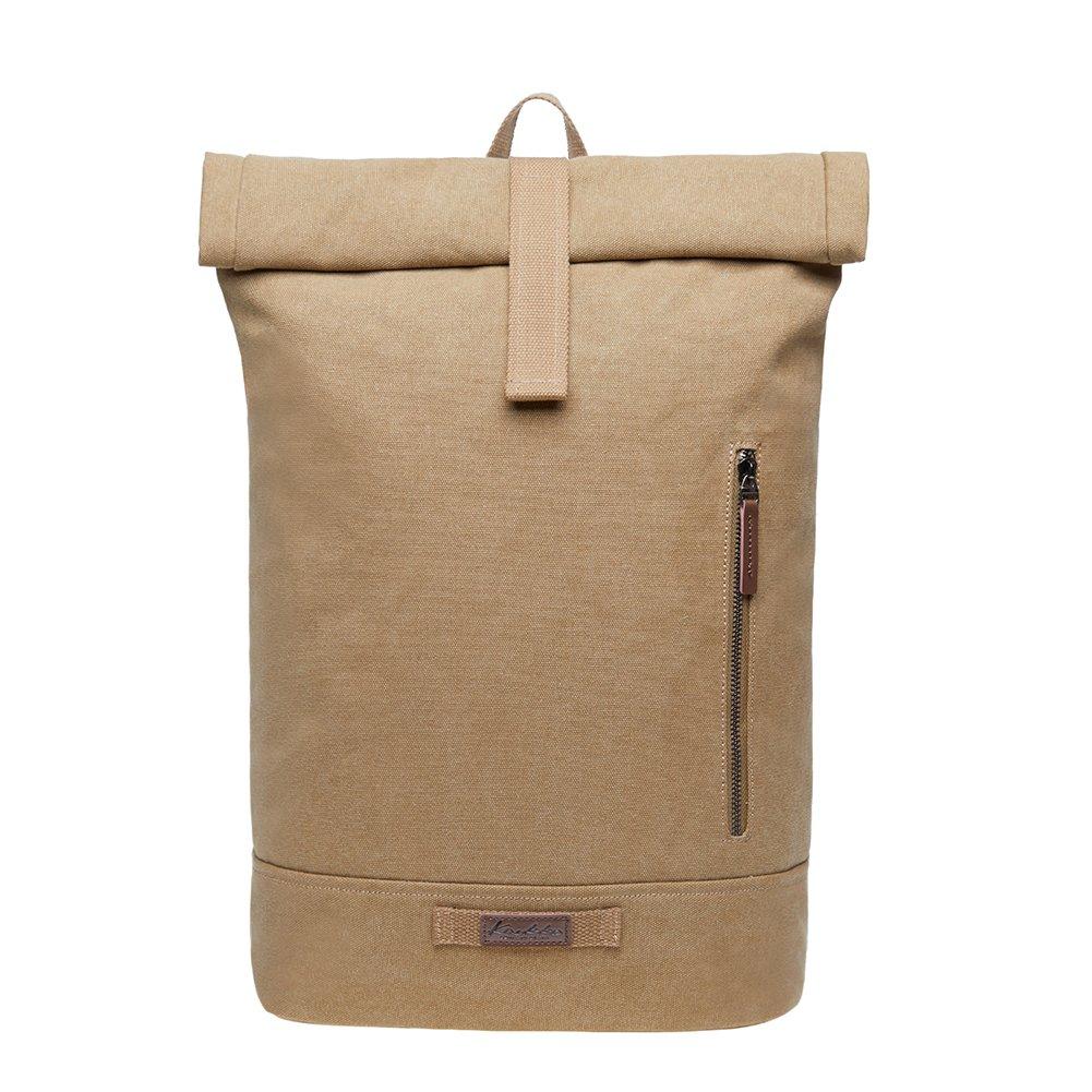 KAUKKO Casual Daypacks&multipurpose backpacks,Outdoor Backpack,Travel Casual Rucksack,Laptop Backpack Fits 15'' (6Khaki) by KAUKKO