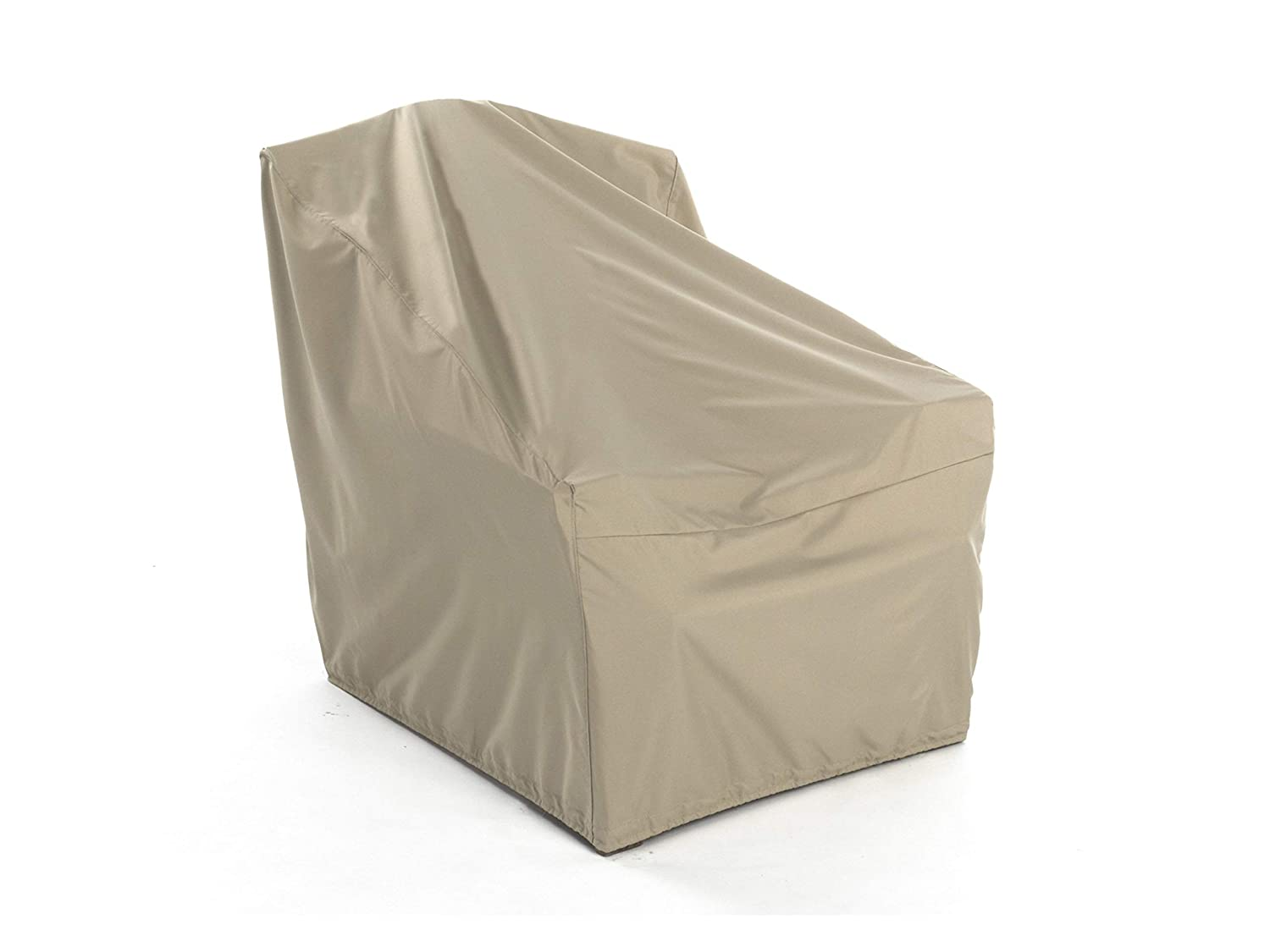 Covermates Outdoor Chair Cover 32W x 32D x 35H Elite Collection 3 YR Warranty Year Around Protection – Khaki