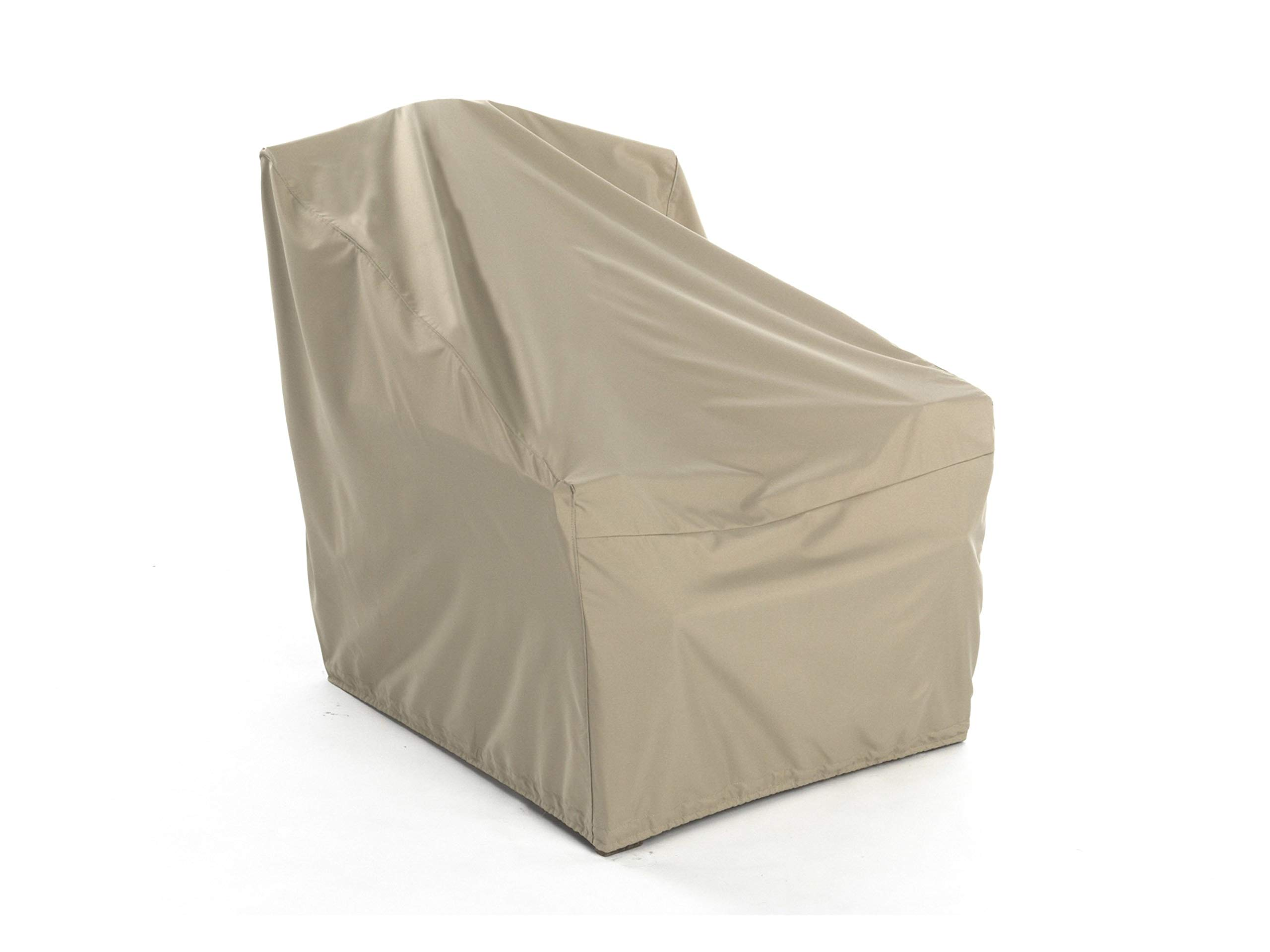 CoverMates – Outdoor Chair Cover – 35W x 40D x 37H – Elite Collection – 3 YR Warranty – Year Around Protection - Khaki
