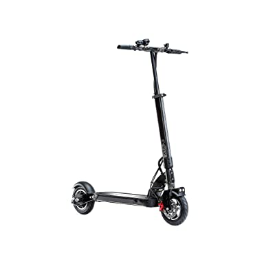 EVOLV Tour Plus Electric Scooter (13 Ah) - Going The Distance, Connecting The Dots. Ride up to 24 mph. 500 Watt Gearless Motor with Front Spring and Rear Hydraulic Suspension : Sports & Outdoors