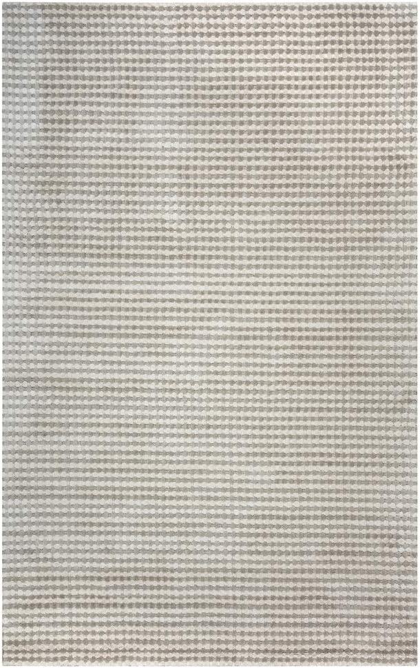 Rizzy Home Platoon New Zealand Wool Accent Rug (5' x 8') - 5' x 8' - 5' x 8' Beige