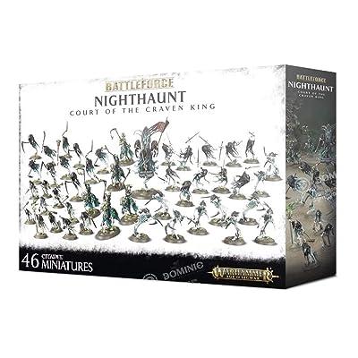 Games Workshop Warhammer 40,000 Nighthaunt Court of The Craven King: Toys & Games