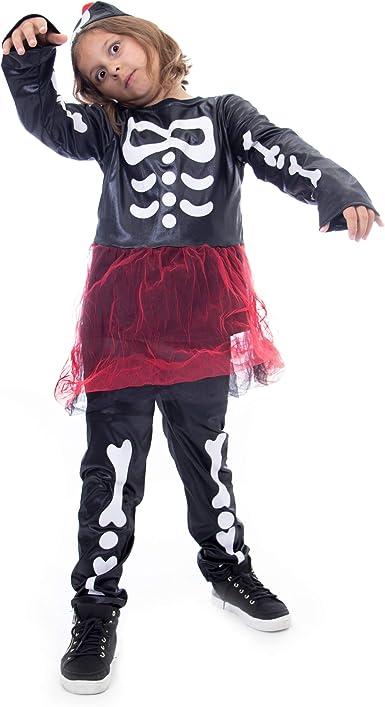 Skeleton Leggings Bone Collection Pants Fancy Dress Halloween Costume Accessory