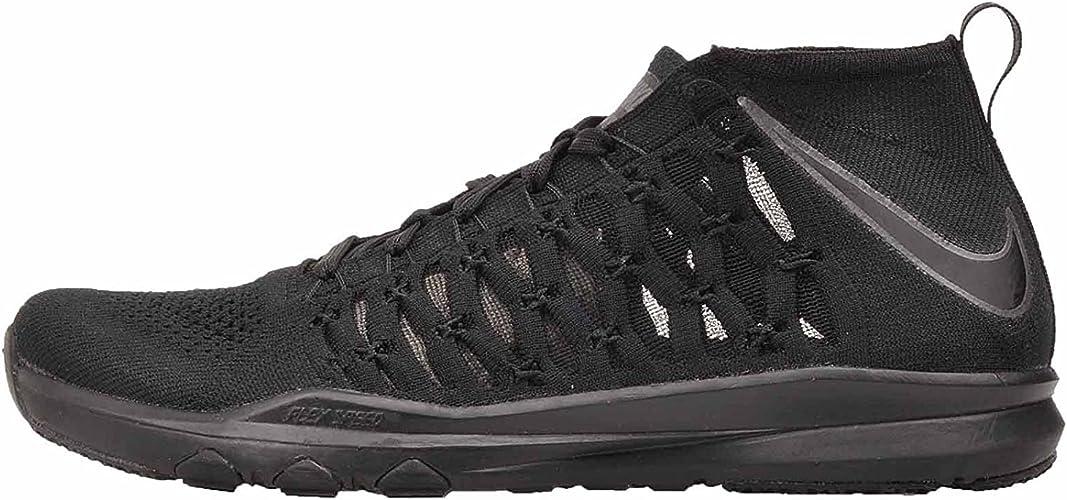 paso Fecha roja poco claro  Nike Men's Train Ultrafast Flyknit, Black/Black, 12 M US: Amazon.co.uk:  Shoes & Bags