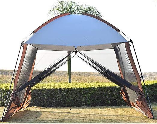 Forall-Ms 3x3m Gran Tienda De Sombra para El Jardín,Mirador con Laterales Carpa para Eventos Al Aire Libre Acampar Al Aire Libre Acampar Al Aire Libre Pantalla Tienda: Amazon.es: Hogar
