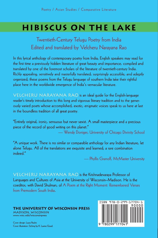 Hibiscus on the Lake: Twentieth-Century Telugu Poetry from India