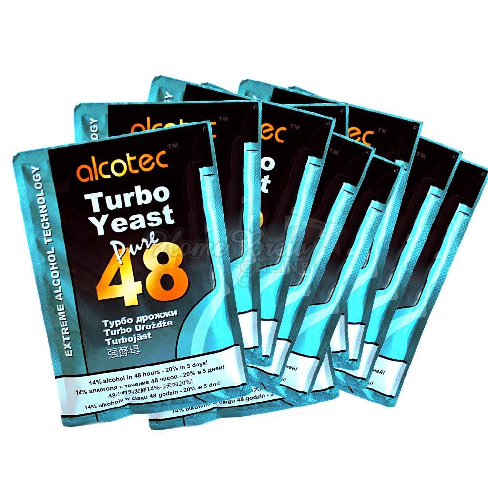 Levadura Turbo de Alcotec, 48 horas/20% en 5 días, 1 Packung