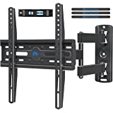 Mounting Dream UL Listed TV Mount TV Wall Mount Swivel and Tilt for 26-55 Inch TV, Perfect Center Design, Full Motion TV Wall