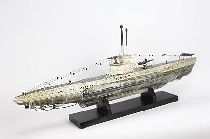 Submarino U-boat Modelismo 48 cms Barco Maqueta Capitán ...