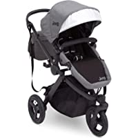 Jogging Stroller | All Terrain Baby Jogger | Sport Utility | JPMA Safety Certified | J is for Jeep Brand | Grey on Black…