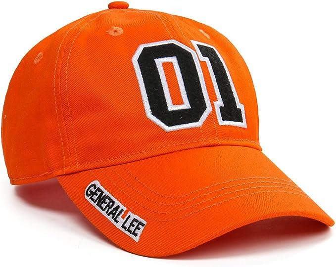 Nofonda Gorras de Béisbol Naranja para Mujer Hombre- Disfraz de ...