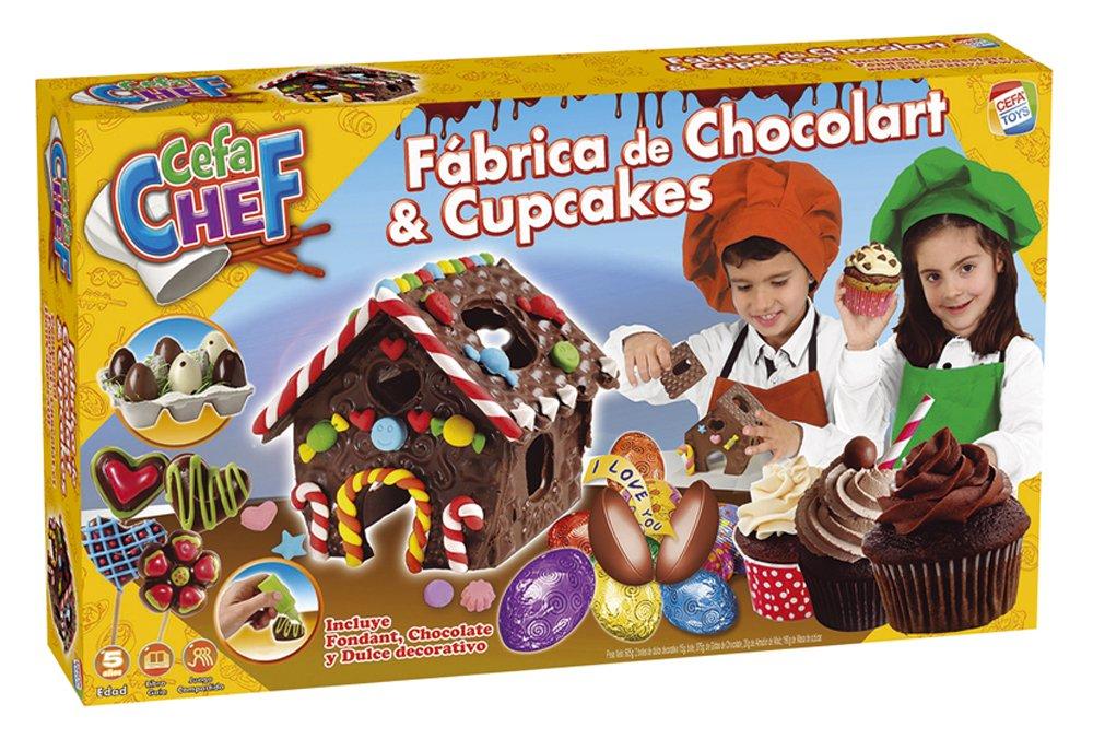 cefa chef galletas y chocolates juego para cocinar cefa toys amazones juguetes y juegos