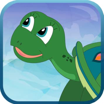 Turtles Day at the Beach - Interactive Storybook for Kids