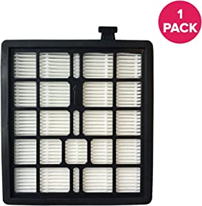Crucial Vacuum Replacement Vacuum Filter - Compatible with Dirt Devil Part # F45 - Fits Models Pets Canister SD40000, EZ Lite Canister SD40010, Parts 2KQ0107000 2-KQ0107-000 F-45 - Bulk (1 Pack)