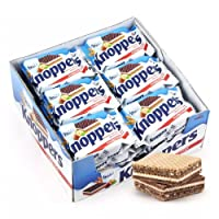 Knoppers 牛奶巧克力榛子威化饼干 600g(德国进口)(亚马逊自营商品,由供应商配送)