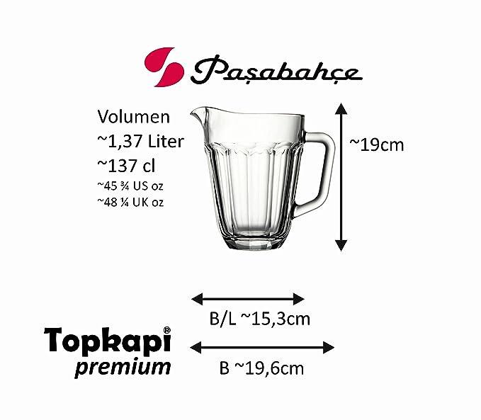 Pasabahce 55102 Festival Pitcherkrug 180cl transparent 1 Stück