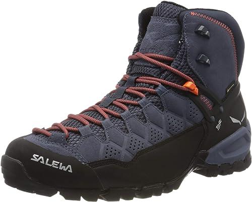 SALEWA Alp Trainer Mid GTX (Halbhoher Bergschuh Herren), Groesse 8 UK (42), Farbe Salewa:CarbonRinglo