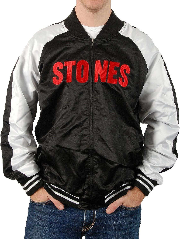 Rolling Stones Womens Classic Tongue Back Print Jacket Black