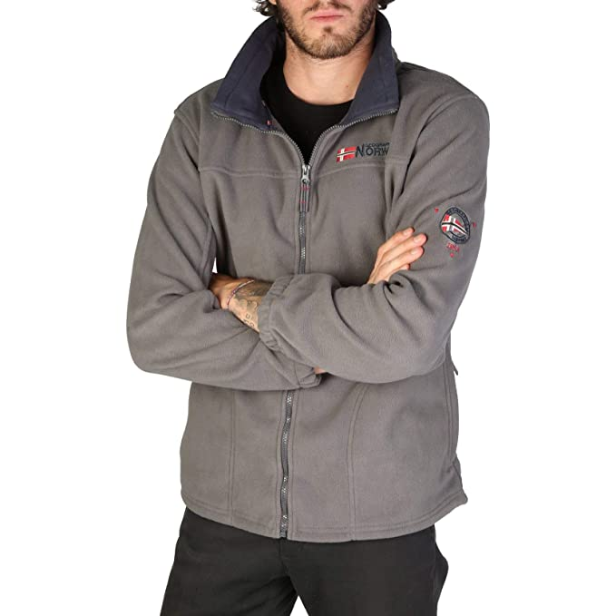 Geographical Norway Sudadera Tamazonie_Man Hombre Color: Gris Talla: L