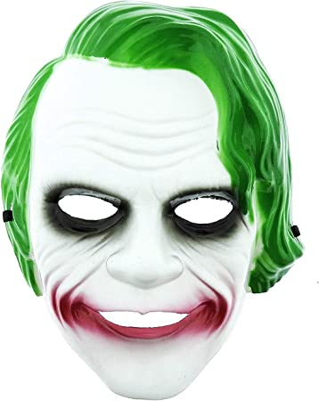 KIRALOVE Máscara de Joker - Personaje - película - Accesorios ...