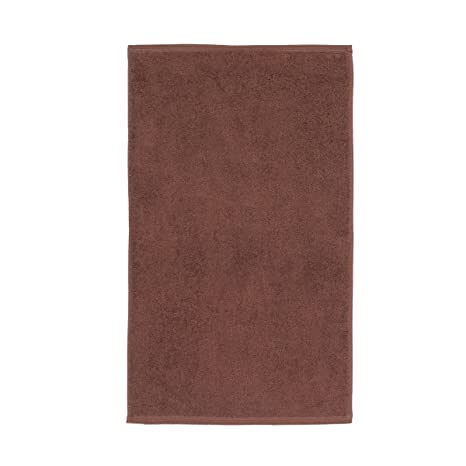 Sancarlos - Toalla Lisa Ocean, Densidad 550 gr/m2, Chocolate, Tocador,