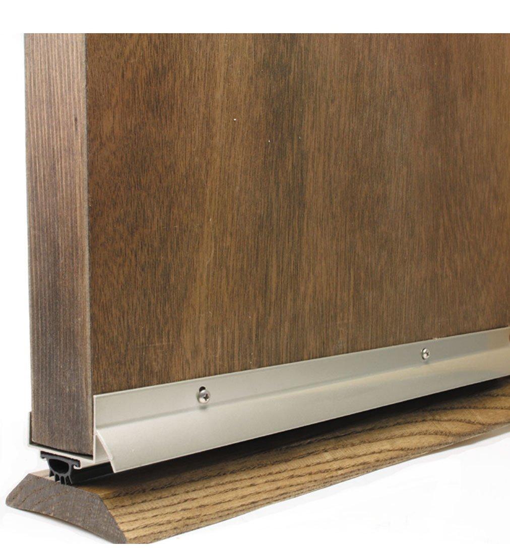 M-D Building Products 49000 36-Inch U-Shaped Door Bottom with Drip Cap Fits 1-3/4-Inch Doors