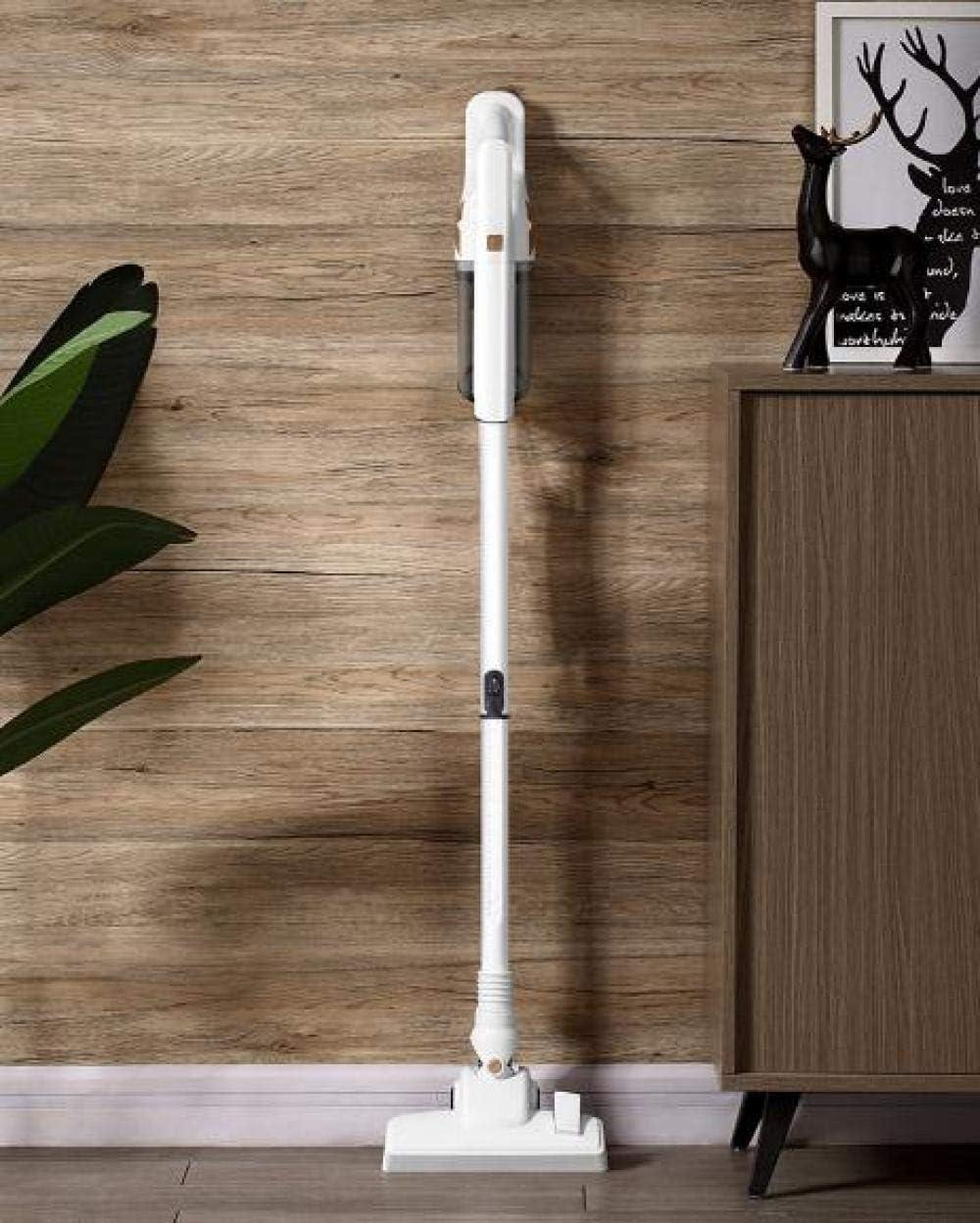 xiaoxiao666 Aspirapolvere Verticale Senza Fili Oro Bianco spazzatrice a Doppia Funzione per Pavimenti duri e Moquette Ricaricabile e Senza Cavi Jinbai