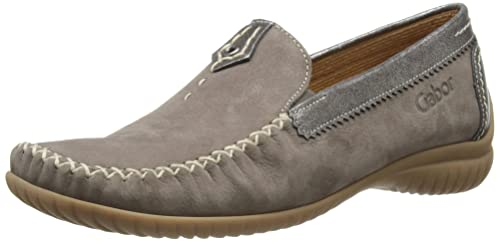 Gabor California N, Women's Loafers, Brown/Anthrazite, ...