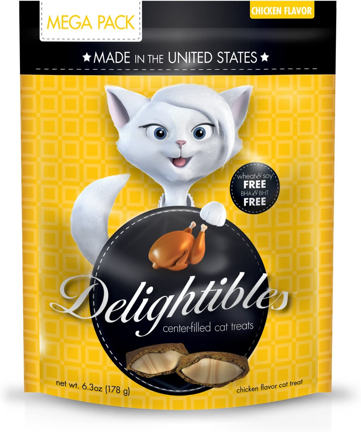 Delighitbles Center-Filled Gourmet Cat Treats