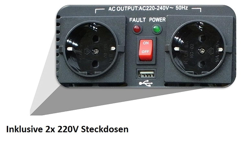 Komplette 220V Solaranlage TÜV Qualitäts: Amazon.de: Elektronik