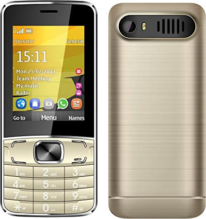Padgene T1 teléfono móvil con botón Grande teléfono Celular Simple ...