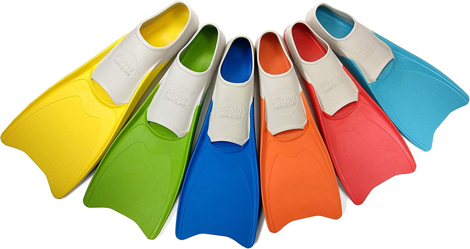 Flow Long Max 58% OFF Swim Fins for Swimming Kids Sizes Max 43% OFF Training Youth -