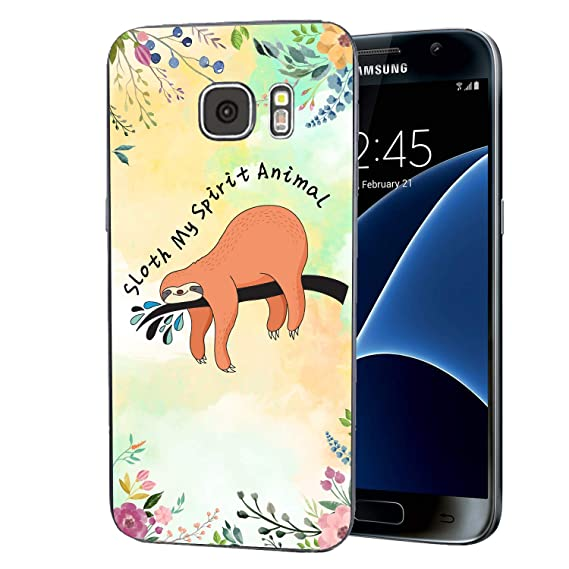 Amazon Com Cocomong Funny Sloth Quotes Case Compatible With Samsung