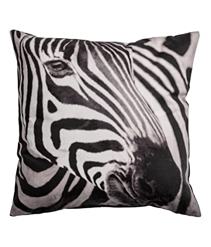 Zebra print accent decorative throw pillow cover 100 cotton throw pillow cover cushion 16 x